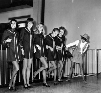 Mary Quant và những người mẫu mini-skirt collection