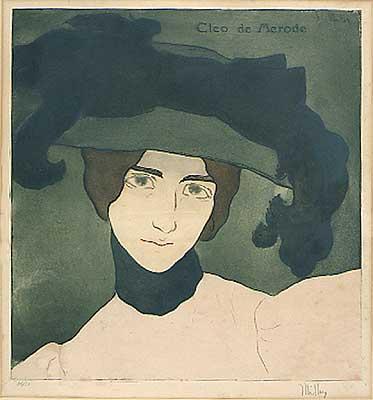 Alfredo Muller, 1869-1939, cleo de m etching c.903