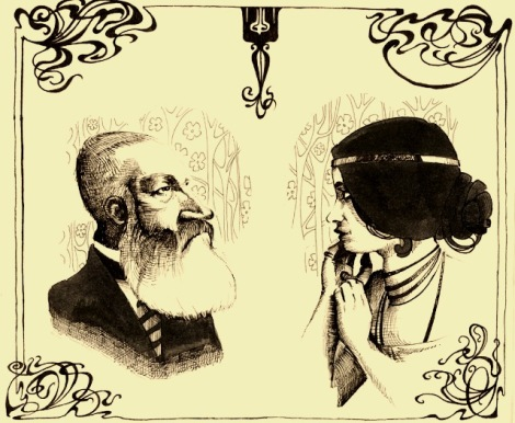 Kin Leopold and Cleo De Merode taken from the Taschen book Art Nouveau
